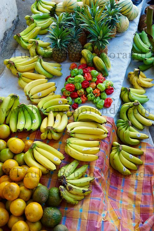 France, Martinique, Sainte Luce, marché du samedi // France, Martinique, Saint Luce, Saturday market