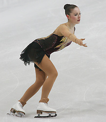 25.01.2011, Postfinance Arena, Bern, Eiskunstlauf EM 2011, im Bild Damen  Qualifikation Kur Fleur Maxwell (LUX) // during the European Figure Skating Championships 2011, in Bern, Switzerland, EXPA Pictures © 2011, PhotoCredit: EXPA/ EXPA/ Newspix/ Manuel Geisser +++++ ATTENTION - FOR AUSTRIA/ AUT, SLOVENIA/ SLO, SERBIA/ SRB an CROATIA/ CRO, SWISS/ SUI and SWEDEN/ SWE CLIENT ONLY +++++