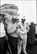Former United States President Dwight Eisenhower golfing at Portmarnock, Co. Dublin..17.08.1962