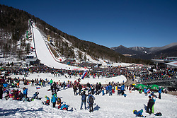 during the Ski Flying Hill Individual Qualification at Day 1 of FIS Ski Jumping World Cup Final 2018, on March 22, 2018 in Planica, Ratece, Slovenia. Photo by Urban Urbanc / SportidaPlanica hill during the Ski Flying Hill Individual Qualification at Day 1 of FIS Ski Jumping World Cup Final 2018, on March 22, 2018 in Planica, Ratece, Slovenia. Photo by Urban Urbanc / Sportida