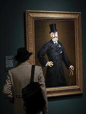 JAN 22 2013 Manet exhibition at Royal Academy of Arts