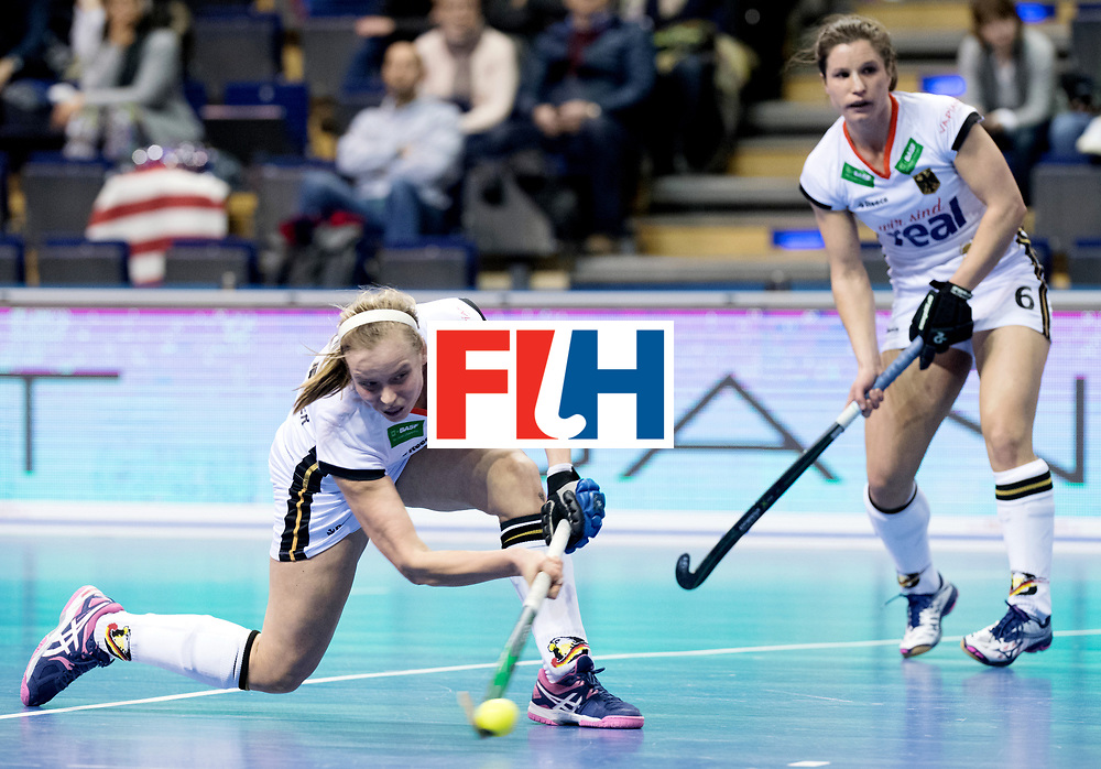 BERLIN - Indoor Hockey World Cup<br /> Women: Ukraine - Germany<br /> foto: Viktoria Huse.<br /> WORLDSPORTPICS COPYRIGHT FRANK UIJLENBROEK