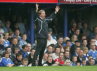 Photo: Lee Earle.<br /> Portsmouth v Bolton Wanderers. The FA Barclays Premiership. 18/08/2007.portsmouth manager Harry Redknapp.