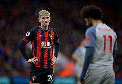 BOURNEMOUTH, ENGLAND - Saturday, December 8, 2018: AFC Bournemouth's David Brooks during the FA Premier League match between AFC Bournemouth and Liverpool FC at the Vitality Stadium. (Pic by David Rawcliffe/Propaganda)