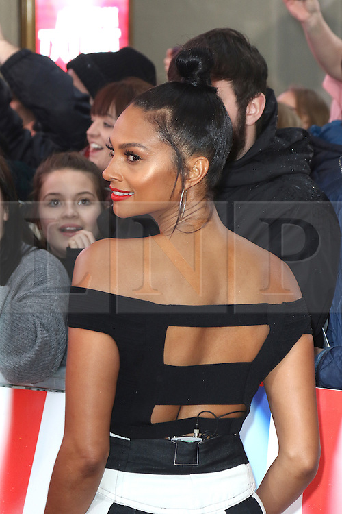 © Licensed to London News Pictures. 29/01/2017. London, UK, Alesha Dixon, Britain's Got Talent - London photocall, Photo credit: Richard Goldschmidt/LNP