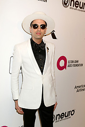 February 24, 2019 - West Hollywood, CA, USA - LOS ANGELES - FEB 24:  DJ Cassidy at the Elton John Oscar Viewing Party on the West Hollywood Park on February 24, 2019 in West Hollywood, CA (Credit Image: © Kay Blake/ZUMA Wire)