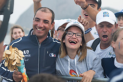 SEGUIN Damien, FRA, 1 Person Keelboat, 2.4mR, Sailing, Voile, Supporters, Fans à Rio 2016 Paralympic Games, Brazil