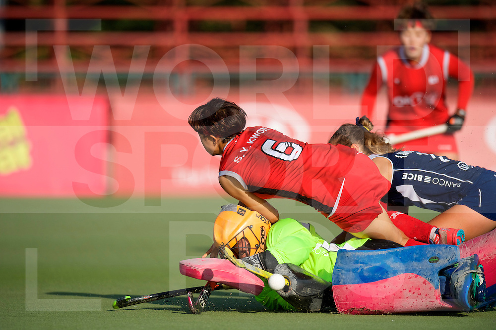 SANTIAGO - 2016 8th Women's Hockey Junior <br /> World Cup<br /> 41 KOR v CHI (11 / 12 Place)<br /> foto: <br /> FFU PRESS AGENCY COPYRIGHT FRANK UIJLENBROEK