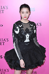 Guan Xiao Tong attending the Pink Carpet prior to the Victoria's Secret Fashion Show at the Mercedes-Benz Arena Shanghai in Shanghai, China, on November 20, 2017. Photo by Aurore Marechal/ABACAPRESS.COM