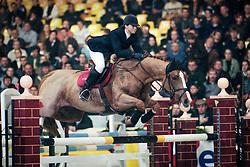 Goemaere Delphine, BEL, Dira Courcelle<br /> Queens Cup<br /> Jumping Mechelen 1998<br /> © Hippo Foto - Dirk Caremans<br /> 30/01/17