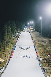 18.01.2020, Hochfirstschanze, Titisee Neustadt, GER, FIS Weltcup Ski Sprung, im Bild Schanzen Ansicht // View of the Hill during the FIS Ski Jumping World Cup at the Hochfirstschanze in Titisee Neustadt, Germany on 2020/01/18. EXPA Pictures © 2020, PhotoCredit: EXPA/ JFK