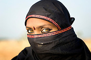 Light eyes are not exceptional for members from the Bhopa tribe in Rajasthan.