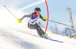 20# Romanin Camilla from Italy during the slalom of National Championship of Slovenia 2019, on March 24, 2019, on Krvavec, Slovenia. Photo by Urban Meglic / Sportida