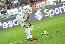 November 19, 2017 - Turin, Piedmont, Italy - Stefano Sorrentino (AC Chievo Verona) during the Serie A football match between Torino FC and AC Chievo Verona at Olympic Grande Torino Stadium on 19 November, 2017 in Turin, Italy. (Credit Image: © Massimiliano Ferraro/NurPhoto via ZUMA Press)