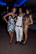 CHESKA HULL; OLLIE LOCKE; GABRIELLA ELLIS, The London Bar and Club awards. Intercontinental Hotel. Park Lane, London. 6 June 2011. <br /> <br />  , -DO NOT ARCHIVE-© Copyright Photograph by Dafydd Jones. 248 Clapham Rd. London SW9 0PZ. Tel 0207 820 0771. www.dafjones.com.