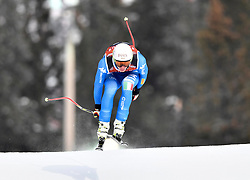 08.03.2017, Are, SWE, FIS Ski Alpin Junioren WM, Are 2017, Herren, Abfahrt, im Bild Alexandetr Prast, Italien tvåa // during men's Downhill of the FIS Junior World Ski Championships 2017. Are, Sweden on 2017/03/08. EXPA Pictures © 2017, PhotoCredit: EXPA/ Nisse<br /> <br /> *****ATTENTION - OUT of SWE*****