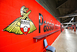 A general view of the The Keepmoat Stadium, home to Doncaster Rovers - Mandatory by-line: Ryan Crockett/JMP - 07/09/2019 - FOOTBALL - The Keepmoat Stadium - Doncaster, England - Doncaster Rovers v Rotherham United - Sky Bet League One