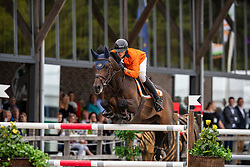 Kersten Lars, NED, H-Cassino<br /> European Jumping Championship <br /> Zuidwolde 2019<br /> © Hippo Foto - Dirk Caremans<br /> Kersten Lars, NED, H-Cassino