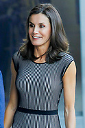 071819 Queen Letizia meeting with the Fundeu BBVA advisory council of the urgent spanish fundation