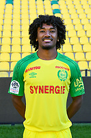 Samuel Moutoussamy during photoshooting of Fc Nantes for new season 2017/2018 on September 18, 2017 in Nantes, France. (Photo by Philippe Le Brech/Icon Sport)