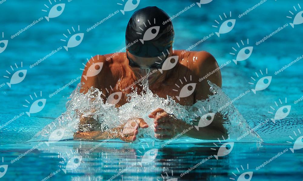 PIZZINI Luca, Italy - Carabinieri<br /> 200 breaststroke men<br /> 50 Settecolli Trofeo Internazionale di nuoto 2013<br /> swimming<br /> Roma, Foro Italico  12 - 15/06/2013<br /> Day02 batterie heats<br /> Photo Andrea Masini/Deepbluemedia/Insidefoto