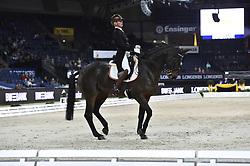 Van Der Lei Agatha, NED, Vrbgroup's Caron<br /> Stuttgart - German Masters 2018<br /> © Hippo Foto - Stefan Lafrentz