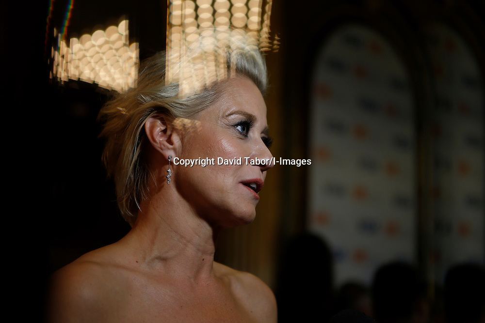 Actor TRINE DYRHOLM photographed against a mirror while she's being interviewed at the 'Love Is All You Need' premiere during the 2012 Toronto International Film Festival at The Elgin, Sunday September 9th, 2012. Photo by David Tabor/I-Images.