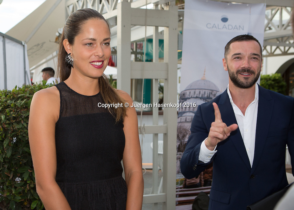 Mallorca Open Players Party, Ana Ivanovic (SRB) und ihr Manager Shem Jacobs,<br /> <br /> <br /> Tennis -  -  WTA -  Hotel Playa Golf - Playa de Palma  -  - Spanien  - 12 June 2016.