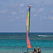 Sailing a Catamaran in Punta Cana
