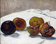 Apples  circa1925  by Georges-Emile Lebacq ,  Belgian painter (1876-1950)