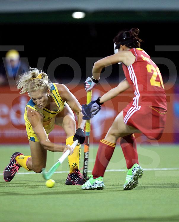 ROSARIO - Hockey World League Semi Final Women<br /> Australia v China.<br /> foto: Jodie Kenny <br /> FFU PRESS AGENCY COPYRIGHT FRANK UIJLENBROEK