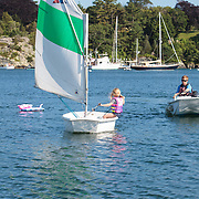 Samantha's Sailing  at Sail Newport, , Rhode Island, USA, July23,2015.  Photo: Tripp Burman
