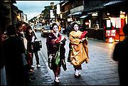 Two Maiko - Gion, Kyoto
