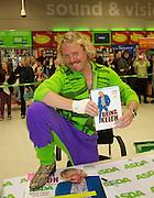 Keith Lemon Book Signing at Asda Livingston.<br /> 13-11-12.<br /> <br /> Mr Bang Tidy, Keith Lemon ( Leigh Frances) signs copies of this new book Being Keith at Asda Livingston today.<br /> <br /> At Asda, In Livingston.<br /> Picture: Mark Davison /  PLPA/ Prolens Photo Agency<br /> Tuesday 13th November 2012