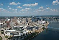 Cincinnati Skyline and Stadiums