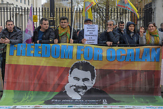 London Kurdish Protest, London, 13 April 2019