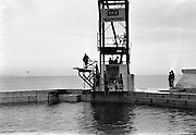 14/07/1967<br /> 07/14/1967<br /> 14 July/1967<br /> PAK sponsored Sandycove Diving Gala at Blackrock Baths, Dublin. Members of the Highgate Diving team from London, give a demonstration at the event.