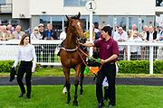 Applecross ridden by Hayley Turner and trained by Michael Bell in the Mj Church Contracting Ebf Stallions Fillies' Novice Stakes (Plus 10 Race) race.  - Ryan Hiscott/JMP - 24/05/2019 - PR - Bath Racecourse - Bath, England - Friday 24th May 2019 Race Meeting at Bath Racecourse