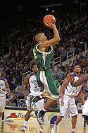 William & Mary guard Adam Payton puts up a shot against Kansas State in the first half at Bramlage Coliseum in Manhattan, Kansas, November 11, 2006.  K-State defeated the Tribe 70-60.<br />