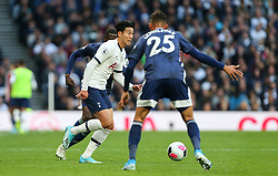 Son Heung-Min of Tottenham Hotspur runs at the Watford defence - Mandatory by-line: Arron Gent/JMP - 19/10/2019 - FOOTBALL - Tottenham Hotspur Stadium - London, England - Tottenham Hotspur v Watford - Premier League