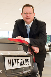 Hatfields Jaguar Sharrowvale Road Sheffield Newly Refurbished Showroom General sales Manager <br />