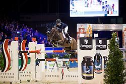 Conter Zoe, BEL, Zeta Di Sabuci <br /> Anemone Horse Truck Grote Prijs van Amsterdam powered by Stoeterij Sterrehof<br /> Jumping Amsterdam 2017<br /> © Hippo Foto - Leanjo de Koster<br /> 29/01/2017