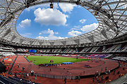 General stadium view ahead of the Muller Anniversary Games at the London Stadium, London, England on 9 July 2017. Photo by Martin Cole.