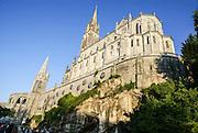 Rosary Basilica, Lourdes, France.