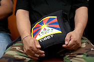 Tibetans pray for victims of mudslides in Tibet at a ceremony in the Queen borough of New York , Tuesday, August 10, 2010. .Keith Bedford For The New York Times