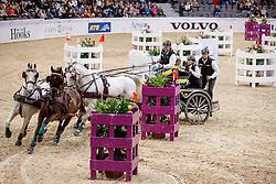 Dobrovitz Jozsef, HUN, 3A Maestoso 51 8 - 3B Maestoso Jupiter - 3C Platon - 3D Pottom<br /> Gothenburg Horse Show FEI World Cups 2017<br /> © Hippo Foto - Stefan Lafrentz<br /> 26/02/17