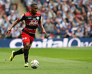 Junior Hoilett of Queens Park Rangers during the Sky Bet Championship Play Off final at Wembley Stadium, London<br /> Picture by Andrew Tobin/Focus Images Ltd +44 7710 761829<br /> 24/05/2014