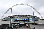Wembley stadium before the Sky Bet League 2 play off final match between AFC Wimbledon and Plymouth Argyle at Wembley Stadium, London, England on 30 May 2016.