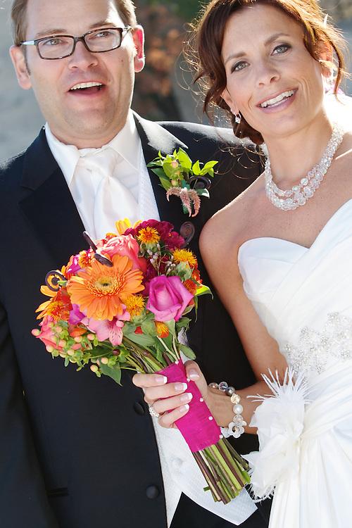 Melissa and Brent, wedding, 2011