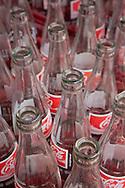 Empty Coke Bottles, Street Bangkok.